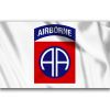 Vlajka AIRBORNE AA-82. division