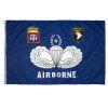 Vlajka Airborne modrá