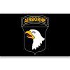 Vlajka Airborne černá