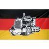 Vlajka Deutschland - kamion