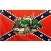 Vlajka Konfederace - kamion