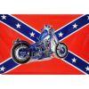 Vlajka Konfederace - motorka