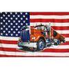 Vlajka USA - kamion