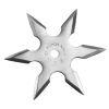 Hvězdice NINJA chrom - 6 cípů