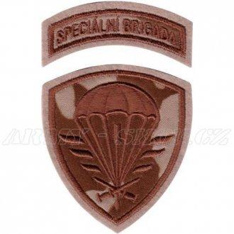Nášivka Speciální brigáda - pouštní vz.95
