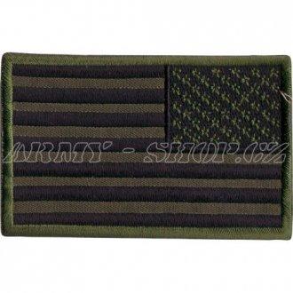 Nášivka - vlajka USA  bojová - pravá
