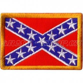 Nášivka - vlajka Konfederace