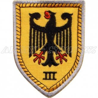 Nášivka - Německá orlice