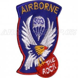 Nášivka Airborne 503 the Rock