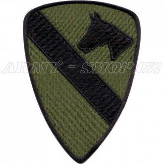 Nášivka First Cavalery Kůň - bojová