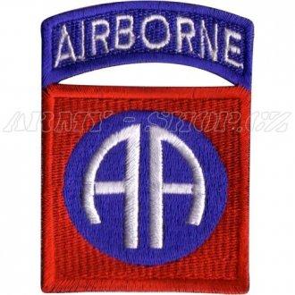 Nášivka Airborne AA - barevná