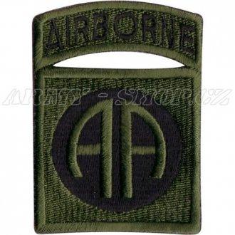Nášivka Airborne AA - bojová