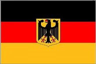 Vlajka Deutschland - s orlicí
