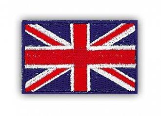 Vyšívaná vlajka - Anglie - nažehlovací