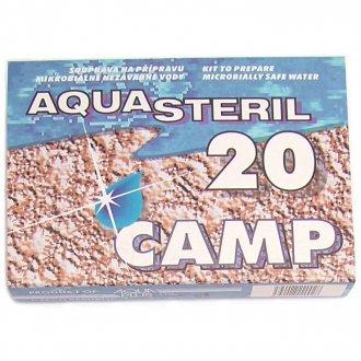 Desinfikace vody - AQUASTERIL CAMP