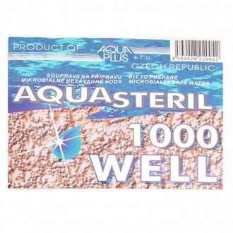 Desinfikace vody - AQUASTERIL WELL