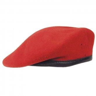 Baret červený BW