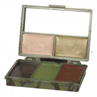 Kamuflážní barvy v krabičce - 5barev