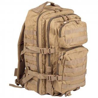 Batoh vojenský US ASSAULT PACK 30L - béžový