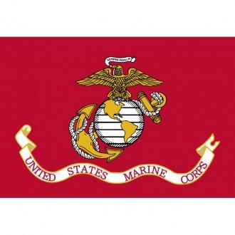 Vlajka U.S.M.C.  červená