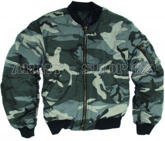Bomber MA-1 Night Camouflage