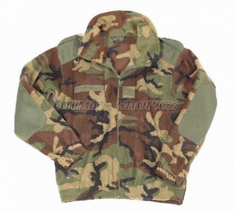 Mikina ARMY fleece - Woodland