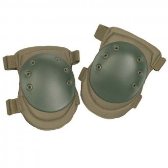 Chrániče na kolena - olivové