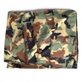 Deka fleece COMMANDO woodland
