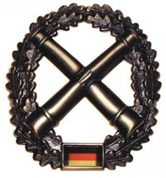 Odznak rozlišovací BW velký - Dělostřelecká jednotka