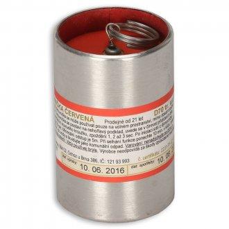 Dýmovnice trhací D70 červená