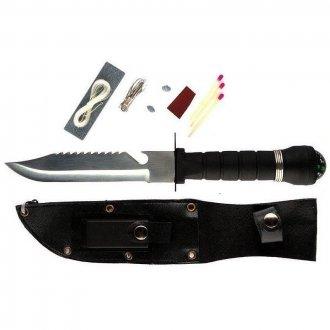 Nůž  RAMBO černý