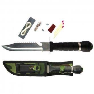 Nůž  RAMBO  maskáčový