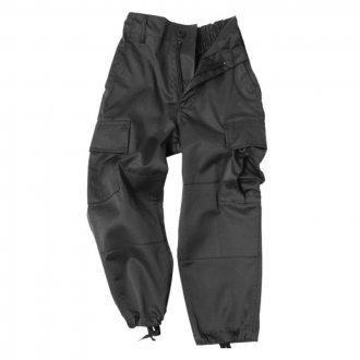 Kalhoty Dětské MIL-TEC černé
