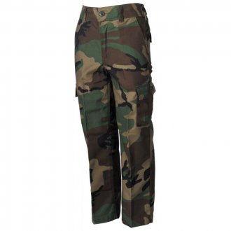 Kalhoty Dětské MFH woodland