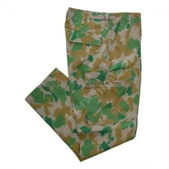 Kalhoty kapsáče NVA camo Mil-Tec