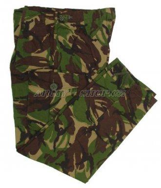 Kalhoty - Orig. Britská armáda - klasika LES - zánovní