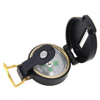 Kompas Army - plastový - černý