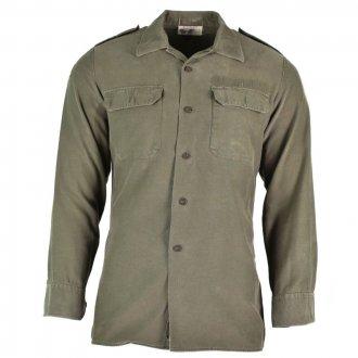 Košile Bundeswehr OLIV - použitá