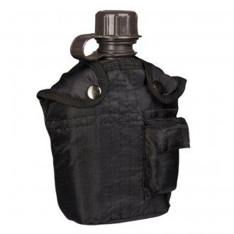 Polní láhev - černá - nylon