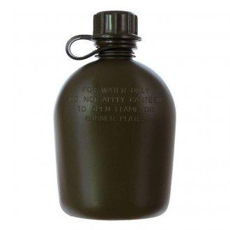 Polní láhev Bez obalu - plastová - OLIV
