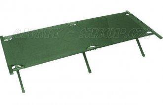 Polní rozkládací lehátko - Olivové 190x65cm