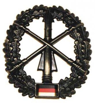 Odznak rozlišovací BW malý - Pozemní letecká obrana