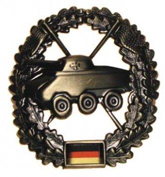Odznak rozlišovací BW malý - Vzorný tankoborník
