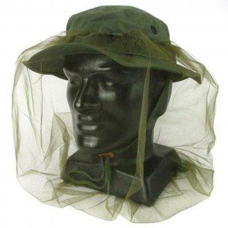 Moskytiéra US Army - na klobouk