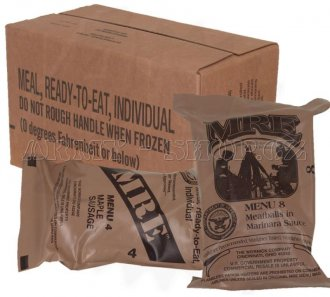 MRE - Meal Ready-to-Eat, Individual