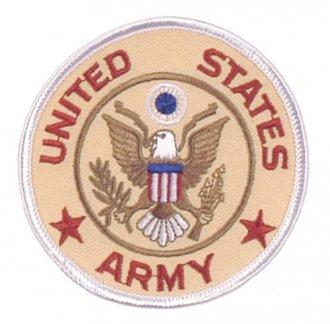 Nášivka United States Army kulatá