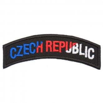 Nášivka Czech Republic oblouk - barevná