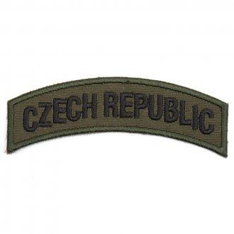 Nášivka Czech Republic oblouk - bojová