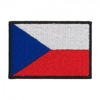 Nášivka - vlajka ČR  barevná - velká