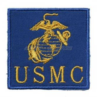 Nášivka - nápis + znak USMC